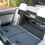 Both back seats fold forward for additional storage space